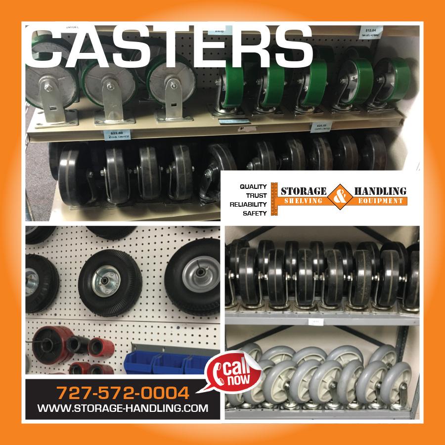 Casters Storage & Handling
