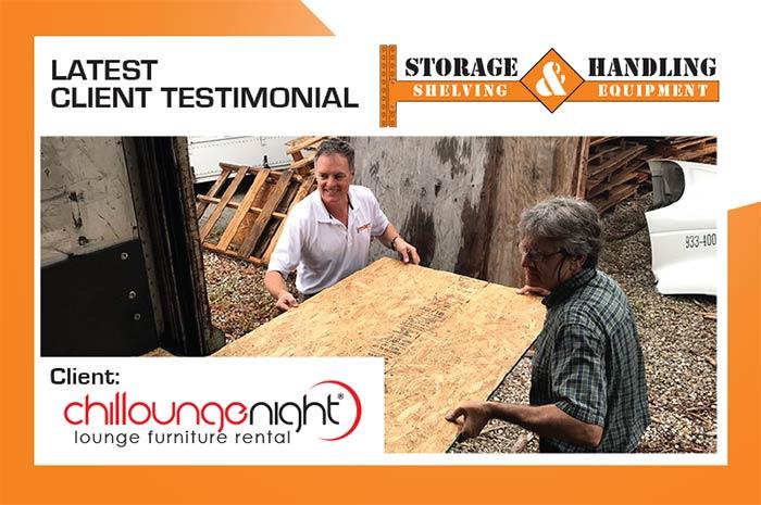 Client Testimonials Storage Handling