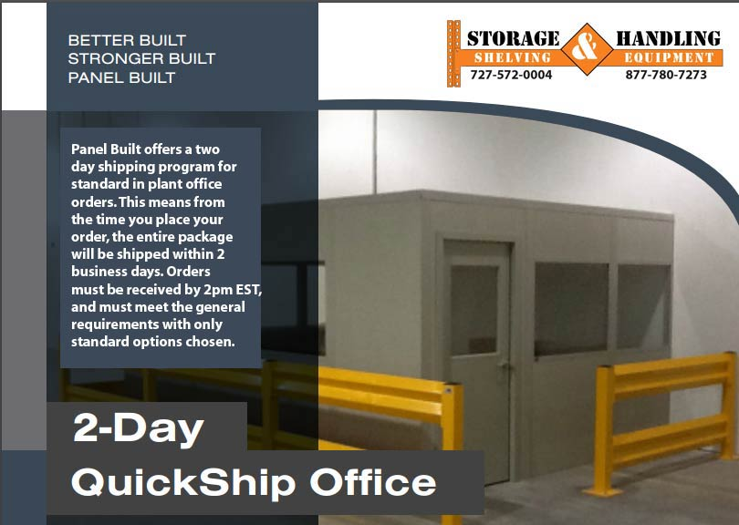 QuickShip PanelBuilt