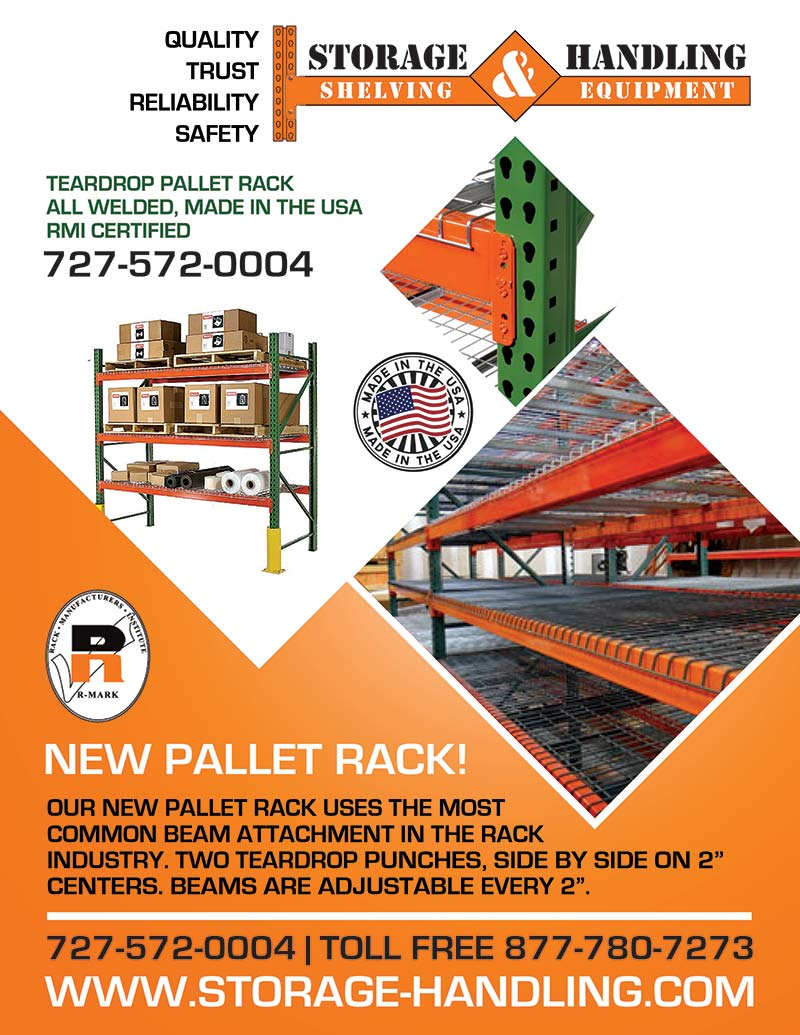 Pallet Rack Storage & Handling Flyer