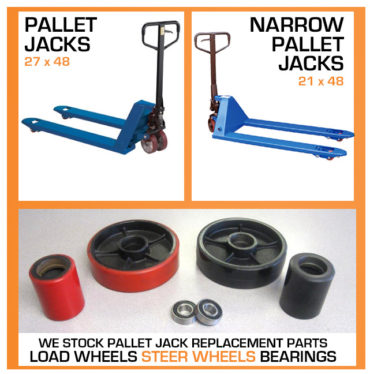 Pallet Jacks - Storage and Handling