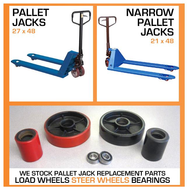 Pallet Jacks - Storage and Handling