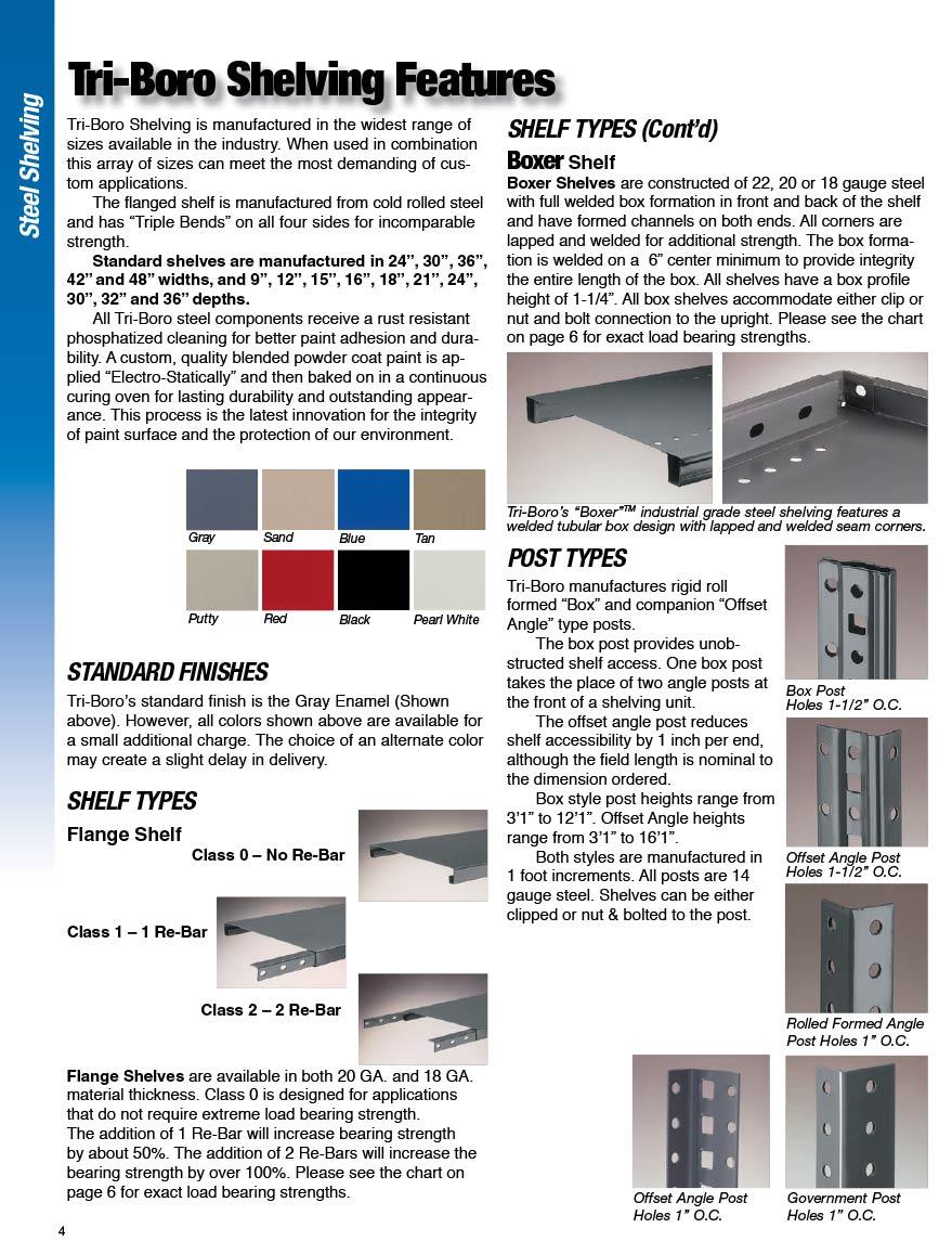 Shelving   Storage & Handling