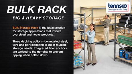 Steel Shelving - Storage & Handling