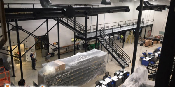 Mezzanine Installation - Storage & Handling